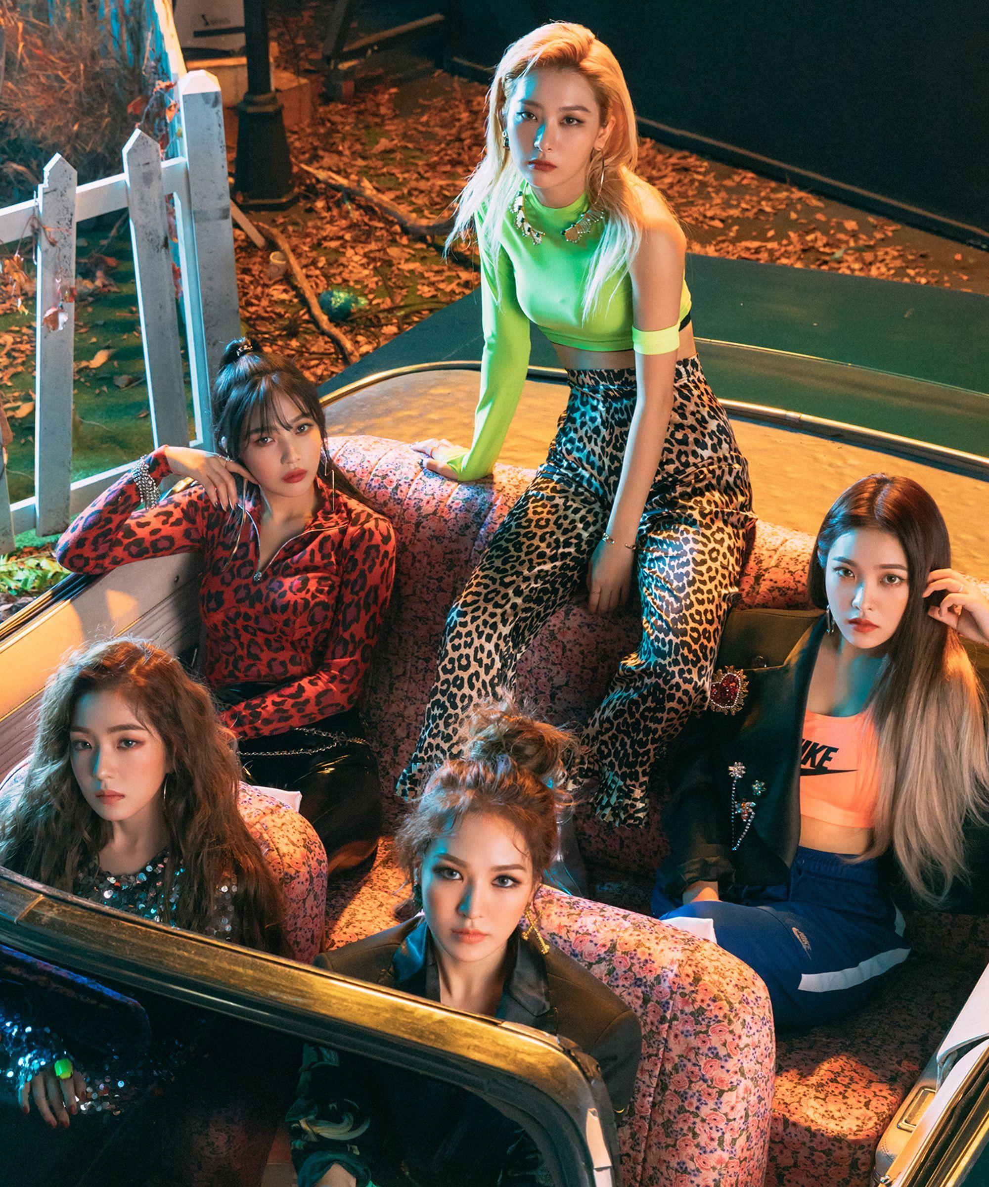 K-Pop Werewolf Drama? Red Velvet Were Just Looking For A