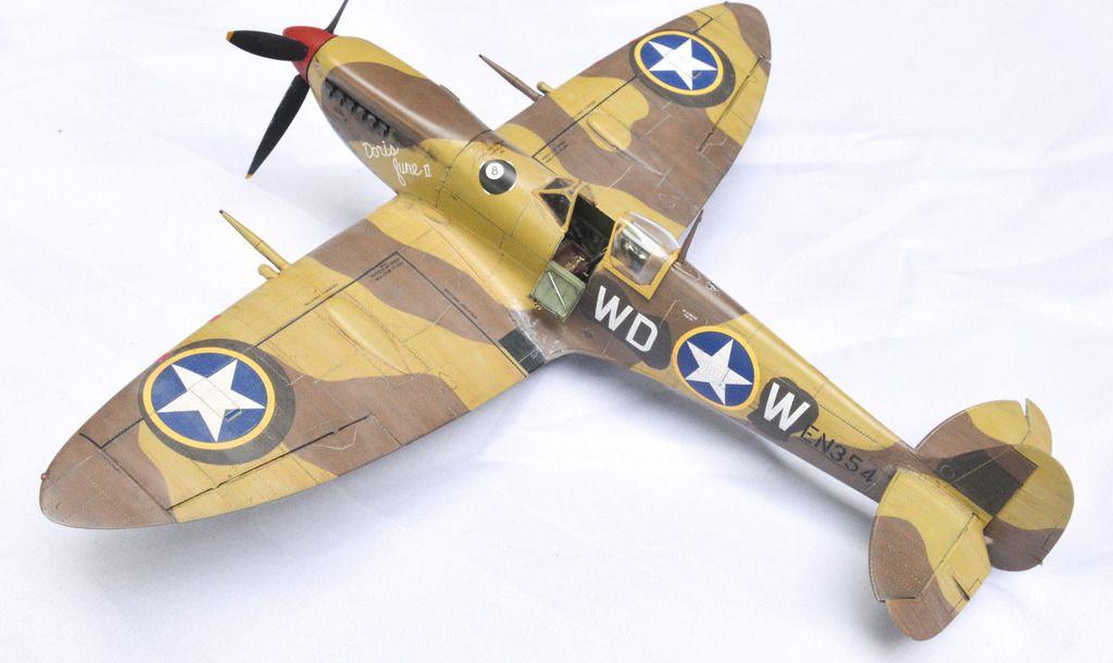 1 48 Eduard Spitfire Mk Ixc Early From Modelsbybd Wordpress Com Modell Modellbau Plastik