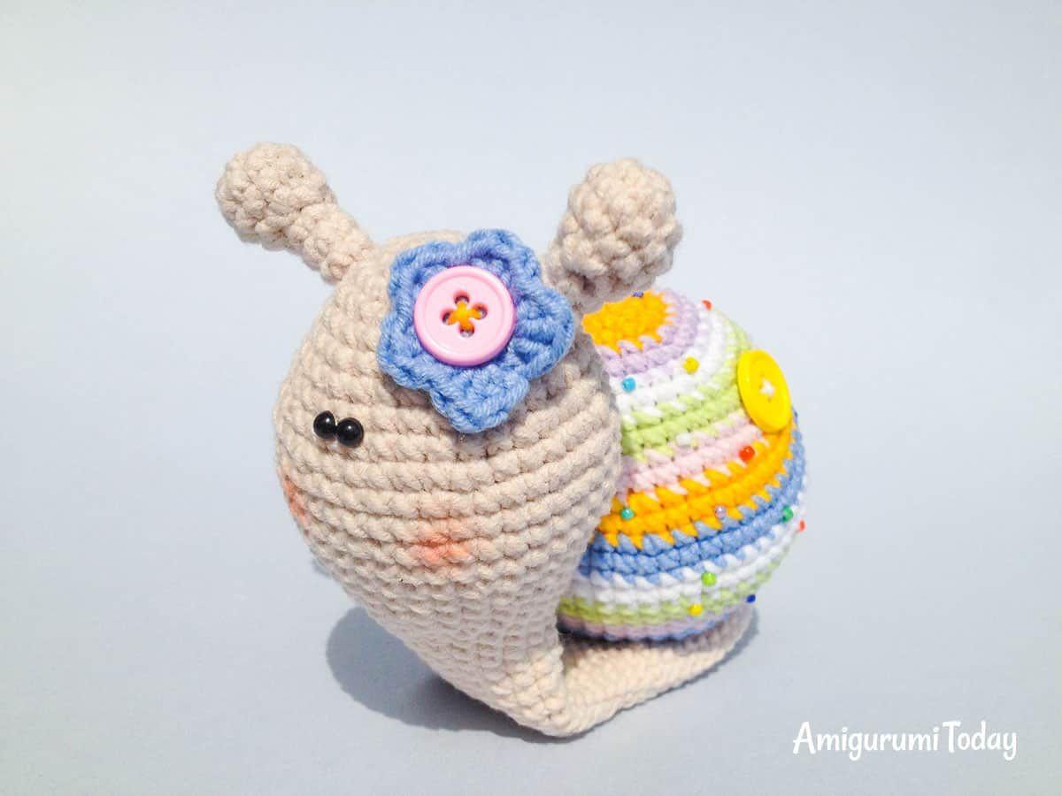 Lady caracol amigurumi patrón | amigurumi | Pinterest | Patrones y Cosas