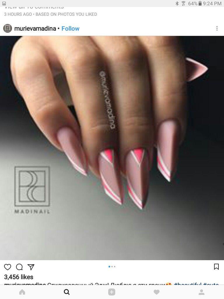Pin by Nalina Porter on Nailed it! | Pinterest | Edge nails, Nail ...