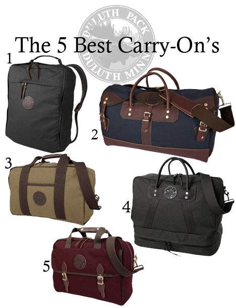 c69684f5ba 5 Perfect Carry-On s by Duluth Pack
