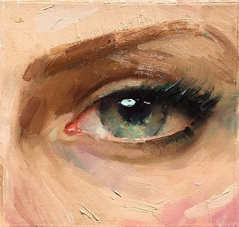 Ignatov's Workshop on Painting Eyes | Pastimes for a Lifetime