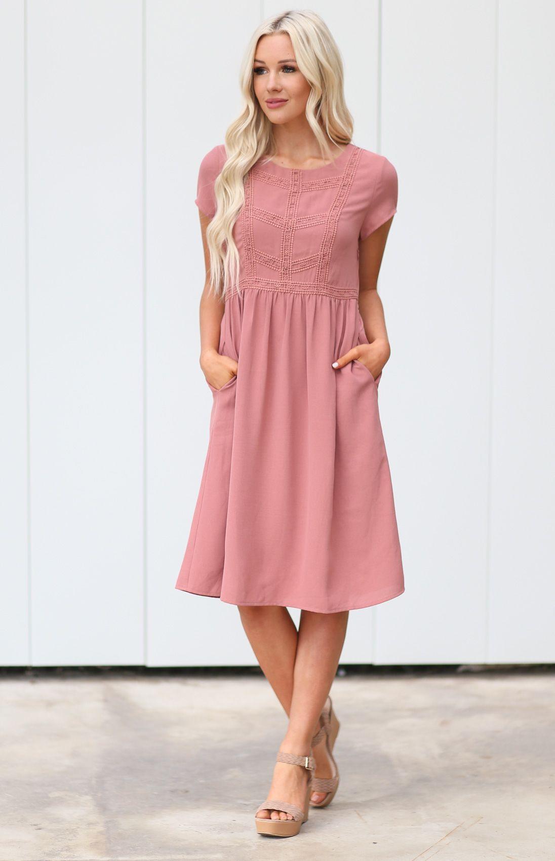 POCKETS! Kate Modest Easter Dress
