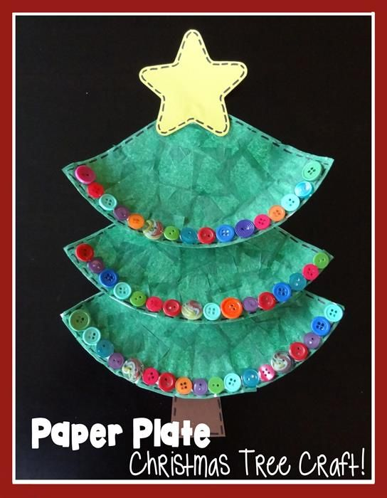Paper Plate Christmas Tree Craft Christmas Paper Plates Christmas Tree Crafts Tree Crafts