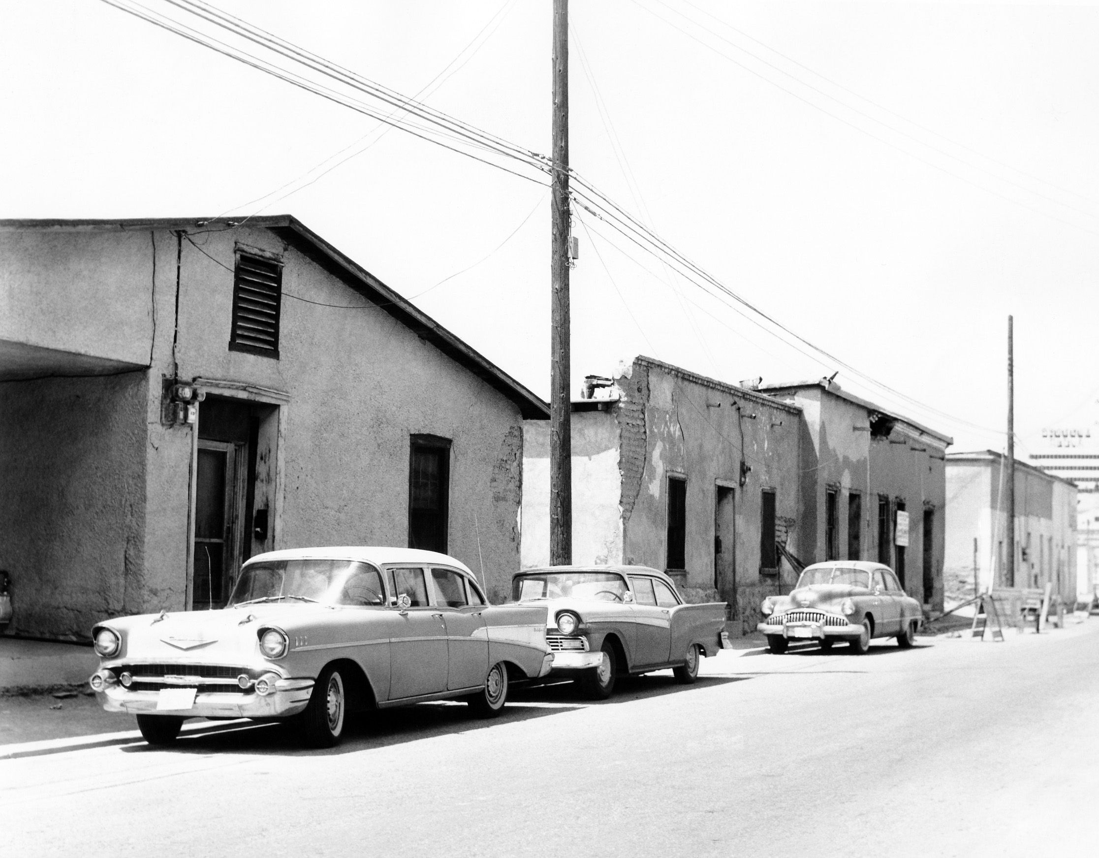 22 best tucson history images on pinterest tucson arizona downtown tucson barrio in 1962 aiddatafo Image collections