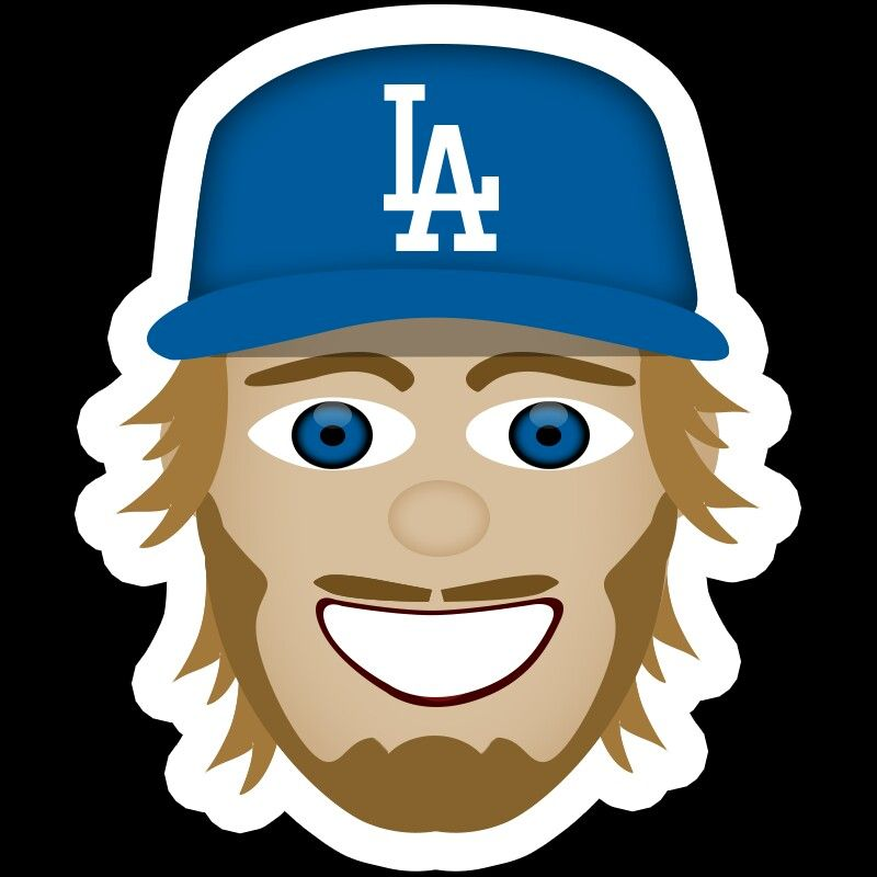 Clayton Kershaw Emoji Los Angeles Dodgers In 2018 Pinterest