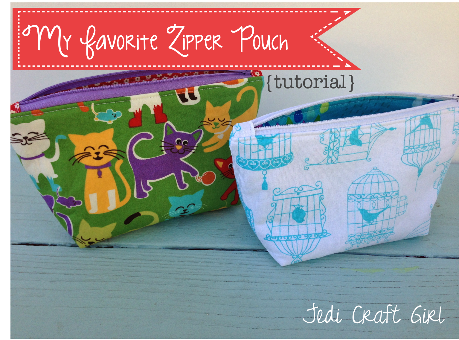 "I am excited to share the pattern for my ""Favorite Zipper Pouch"".      I love my fabrics from xo.gigi fabrics!    I needed a few gifts and..."