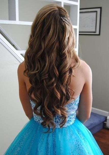 Curly Hairstyles For Long Hair For Wedding : 12 classy chic long wavy hairstyles wavy hair and