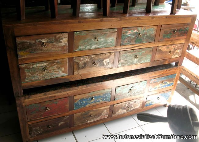 I Want One Of These Tv Benches From Recycled Boat Wood Furniture Company Bali Boat Furniture Bali Furniture Beach Furniture