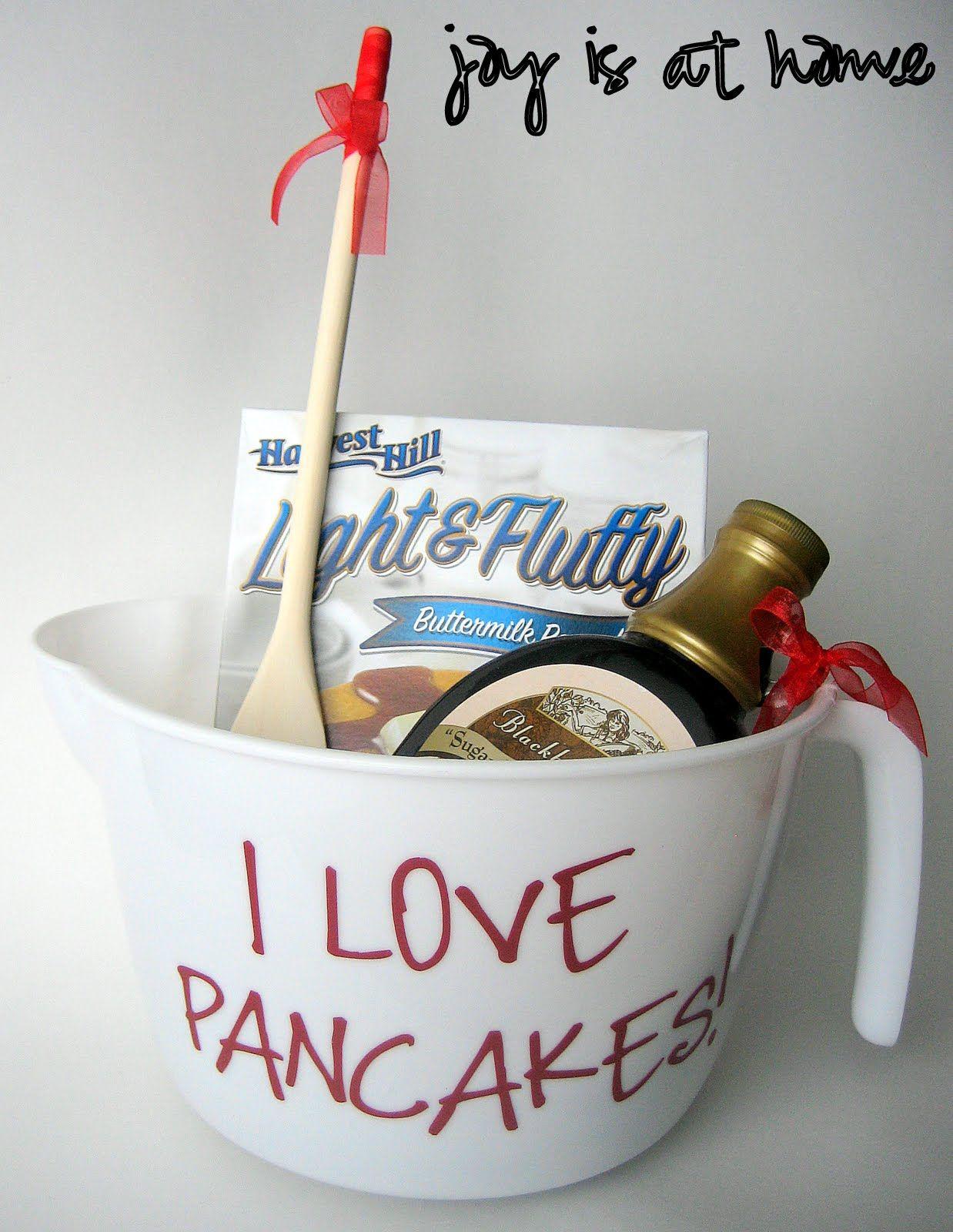 Bridal Shower Door Prize Idea Pancake Lover Basket