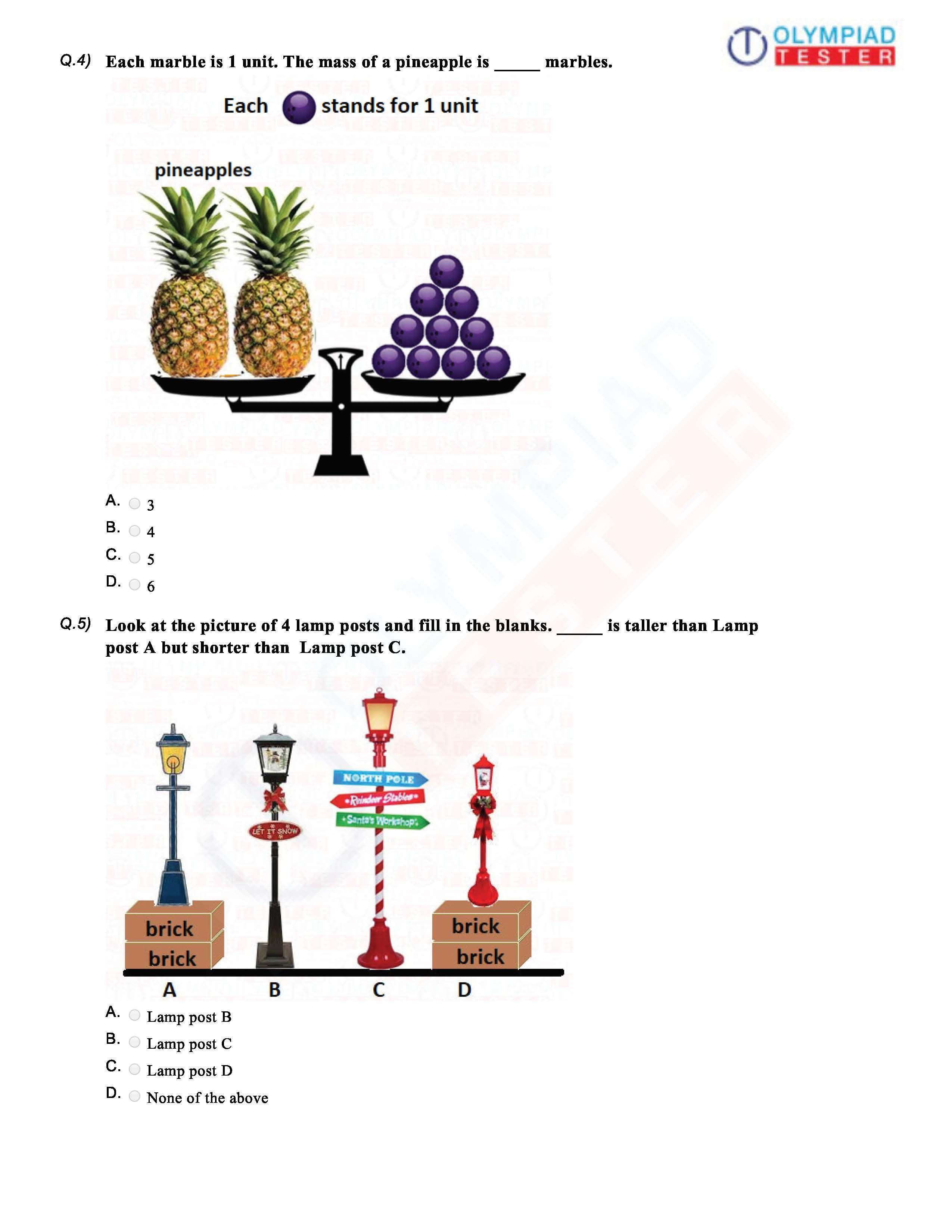Cbse Class 1 Maths Sample Paper Series Class 1 Maths Sample Paper Math [ 3300 x 2550 Pixel ]