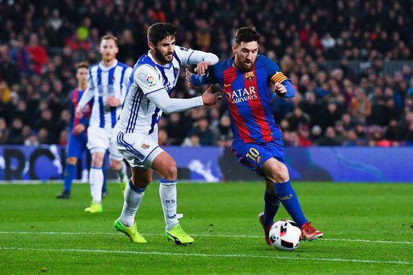Raul Navas Photos Photos Barcelona V Real Sociedad Copa Del Rey