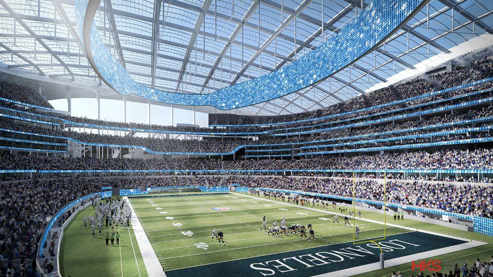 Project Los Angeles Stadium Project Location Inglewood California Designer Hks Architects Architect Mia Lehrer A Nfl Stadiums Stadium Inglewood