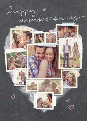 Get 25 Off Anniversary Cards Invites At Cardstore Couponcode Happy Anniversary Cards Photo Collage Cards