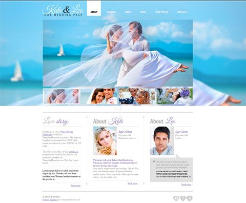 creative website templates psd free download - Google Search | Web ...