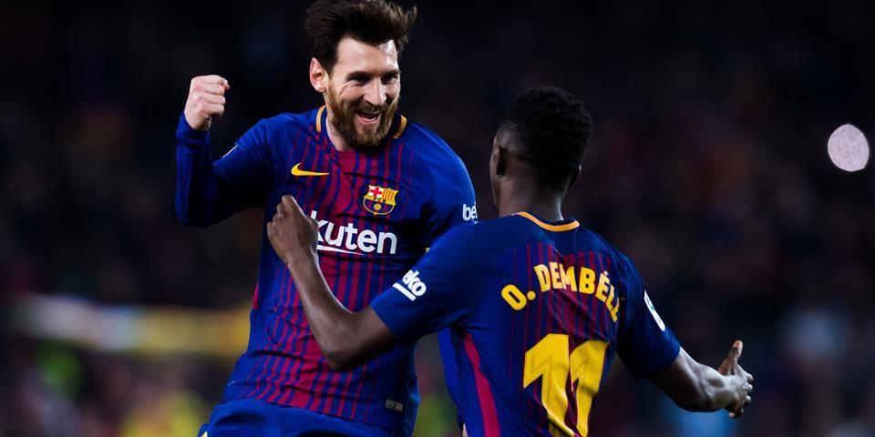 Lionel Mesi i Osman Dembele   Lionel messi, Messi, La liga