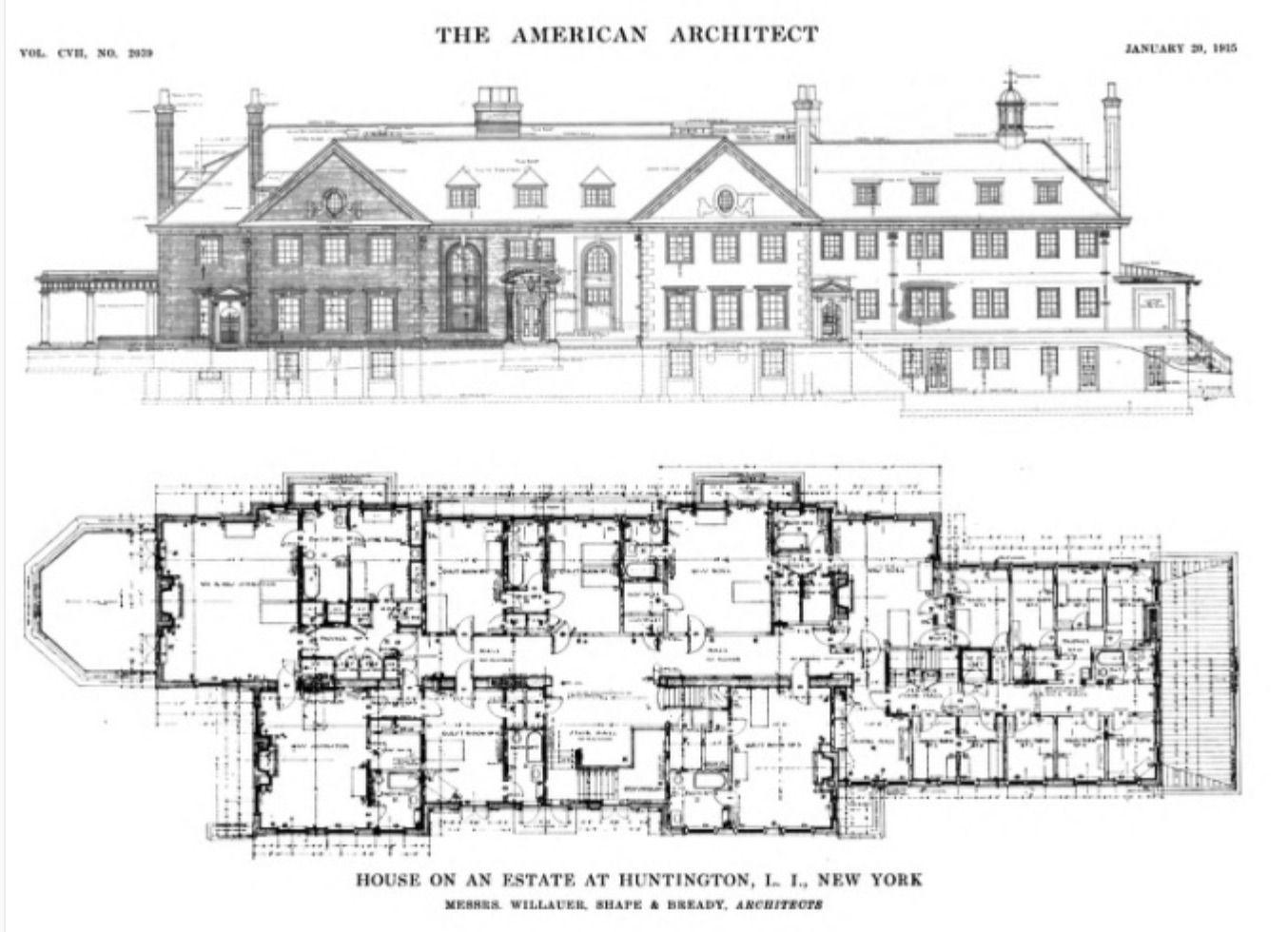 Long Island Mansion Plan 2 Mansion Plans Long Island Mansion Architecture Plan