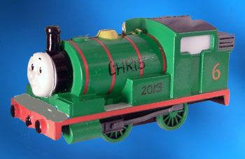 Thomas the Train Ornament - Green   Children's Products ...