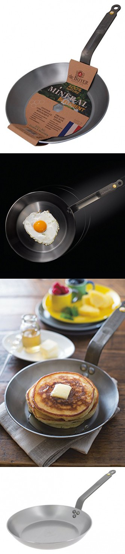 DeBuyer Mineral B Element Iron Frypan, Round   Woks & StirFry Pans ...