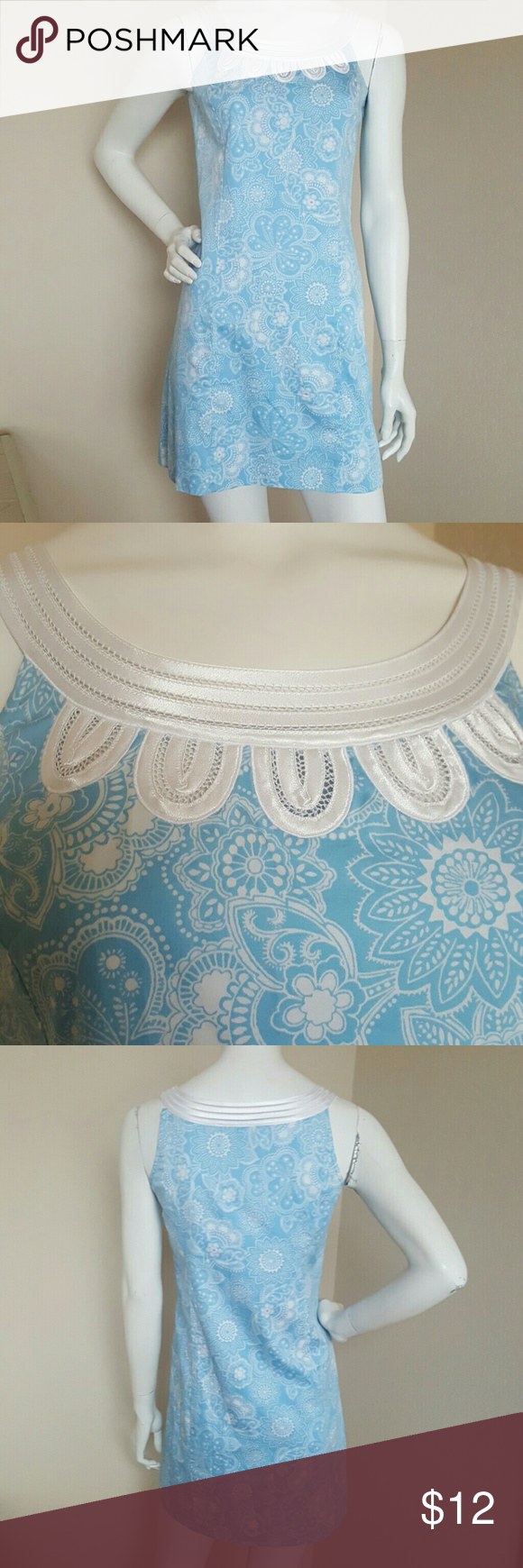 Ann Taylor blue pastel dress size 0P NWOT Classy dress New Without Tag Ann Taylor Dresses Mini