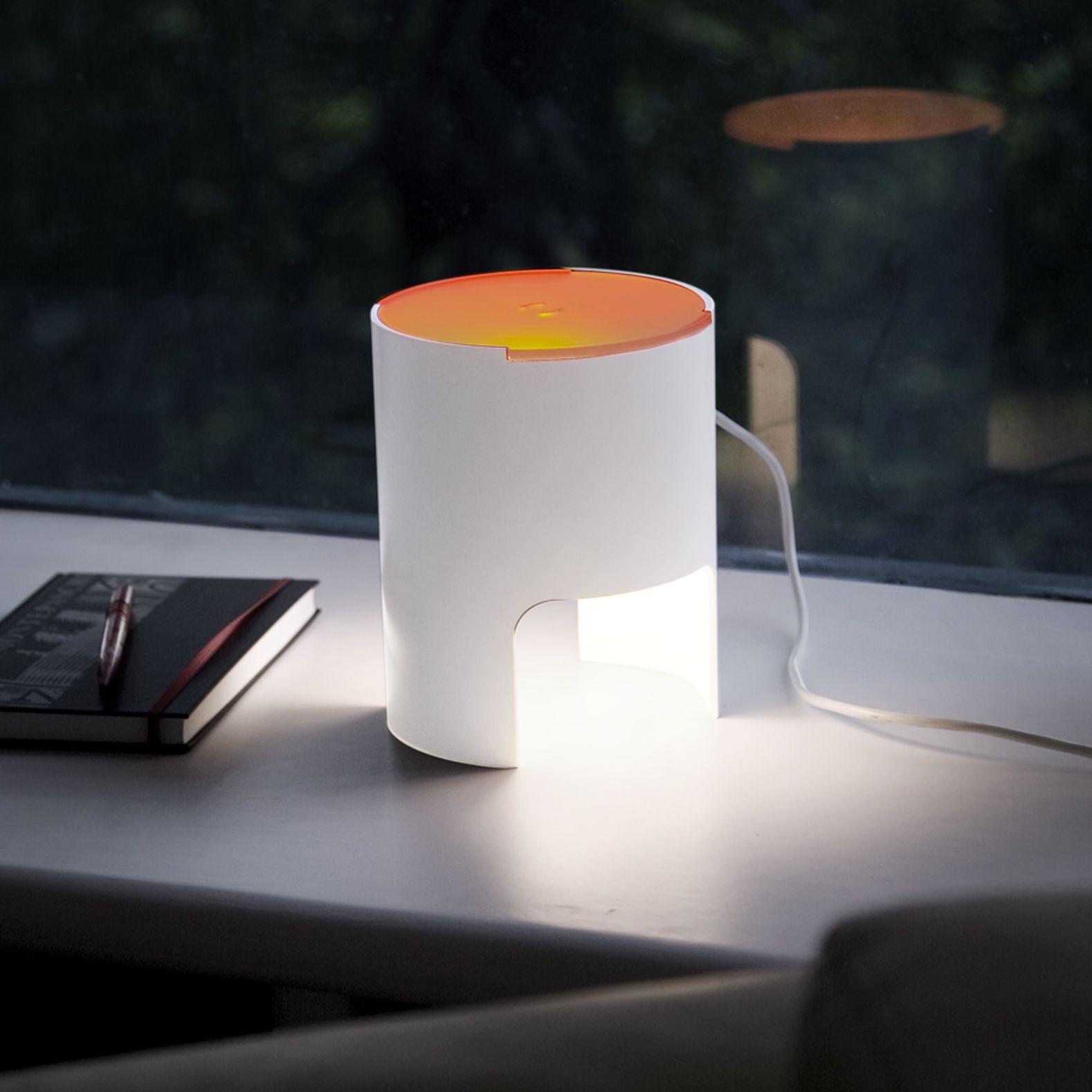 Lampe  poser CIVETTA orange H20cm Martinelli luce