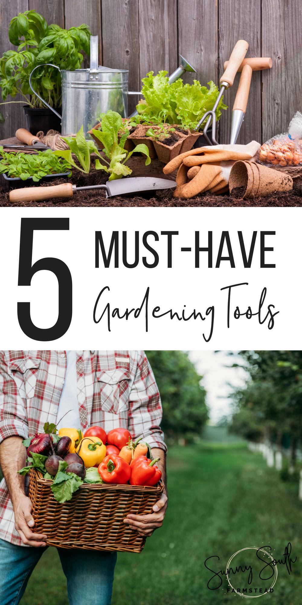 5 Must-Have Gardening Tools   Garden tools, Best garden ...