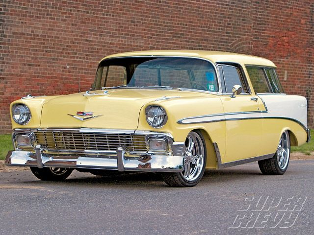 1956 Chevy Nomad Custom Tri Five Wagon Super Chevy Magazine Chevy Nomad Chevy Super Chevy Magazine