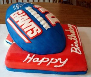 Wondrous Iamjudyp Iamjudyp Ny Giants Cake Photo Nusgram Media Funny Birthday Cards Online Inifodamsfinfo