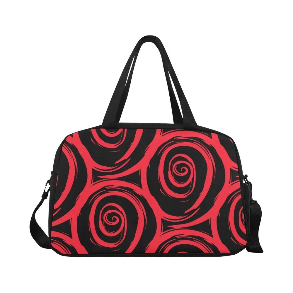 Get Watercolor Painted Roses Tote And Cross-body Travel Bag. Cover Art Prints is a company that spec...