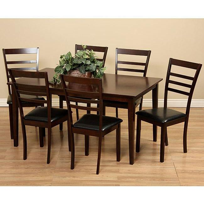 Best Deals On Dining Table And Chairs: Crystal 7-piece Dining Furniture Set