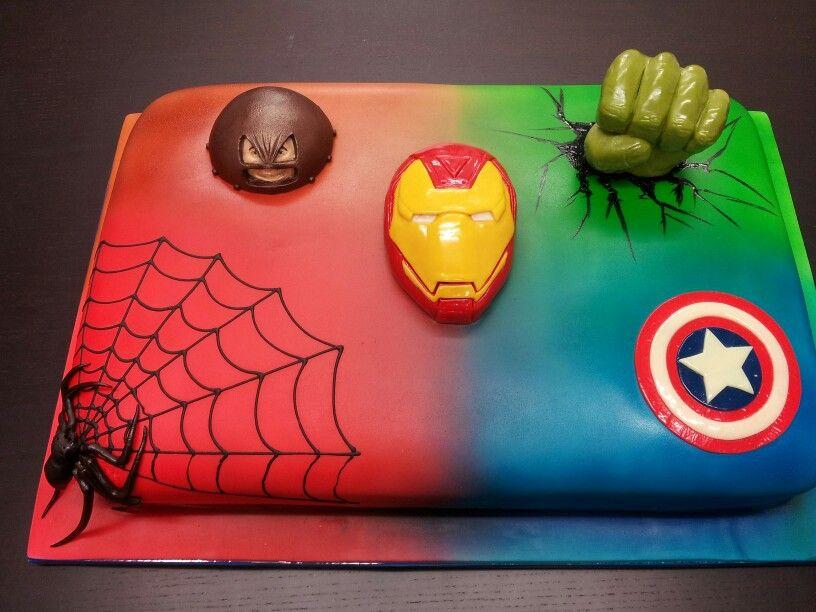 Картинки с супергероями для торта, для открыток