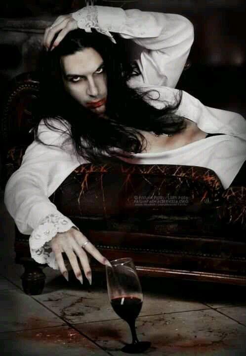 Sexy Goth Vampire Guy