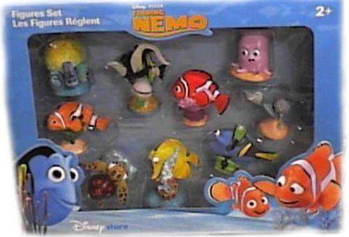 Finding Nemo Toys : Disney finding nemo figurine set by