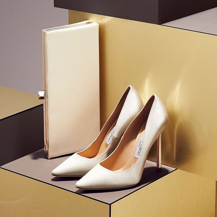 d7829814065a Perfectly Personal  Make your day truly memorable with a bespoke set of Jimmy  Choo  madetoorder  styles