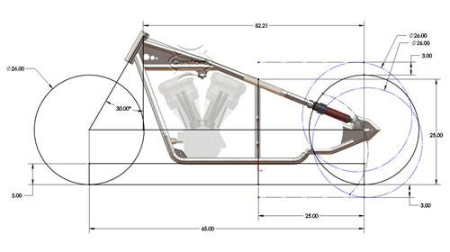 new bobber plans instant download rigid chopper frame plans or