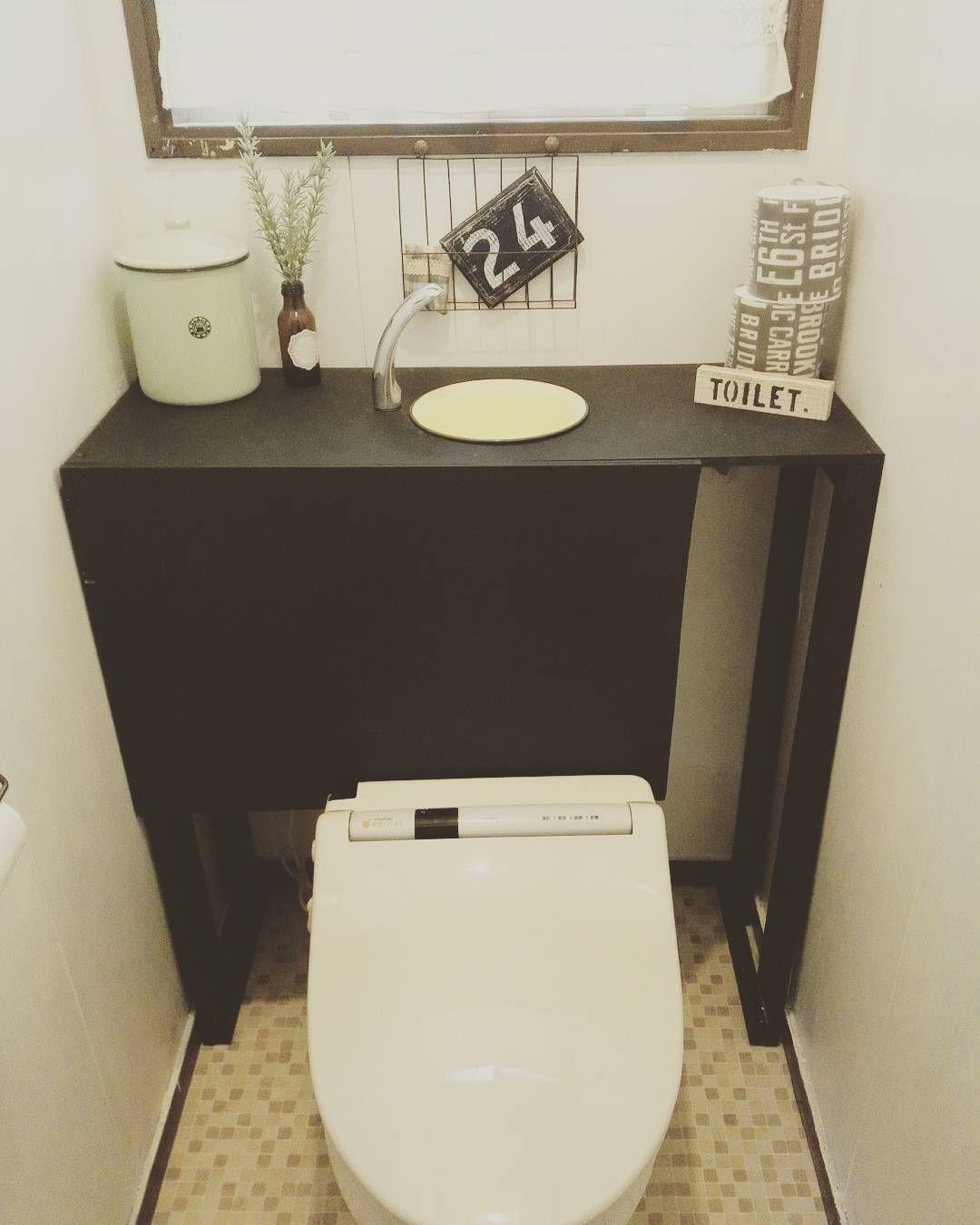 トイレ空間をオシャレにトイレのタンクを隠すdiyが流行ってるよ