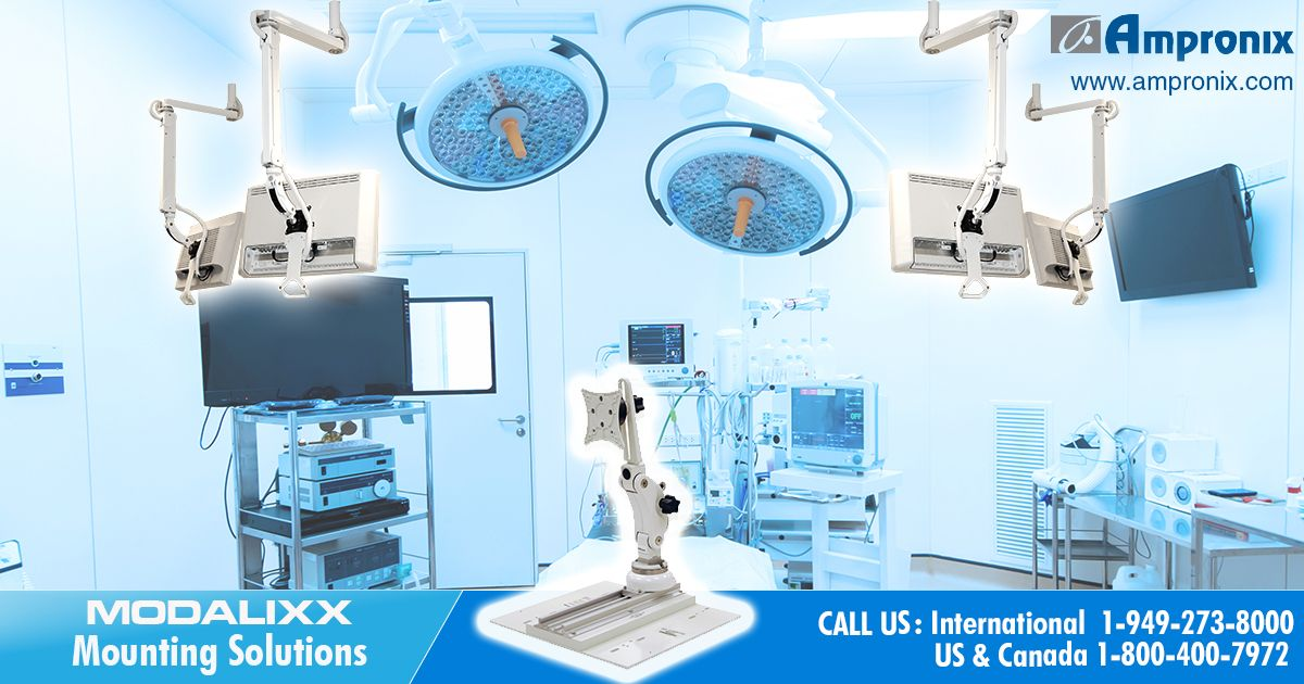 Ampronix offers wide range of medical mounting solutions