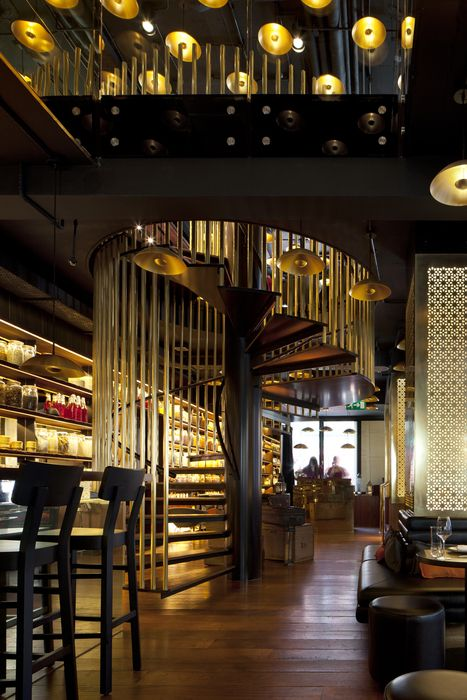 Spice market by concrete restaurant and bar design awards