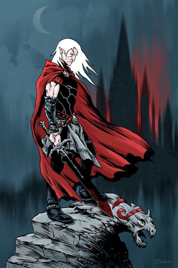 Elric of Melnibone by BatMiB.deviantart.com on @DeviantArt