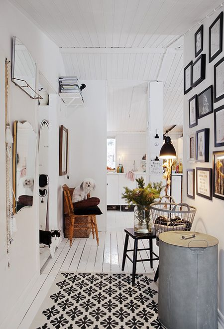 gorgeous nordic atmosphere (via HOH) - my ideal home
