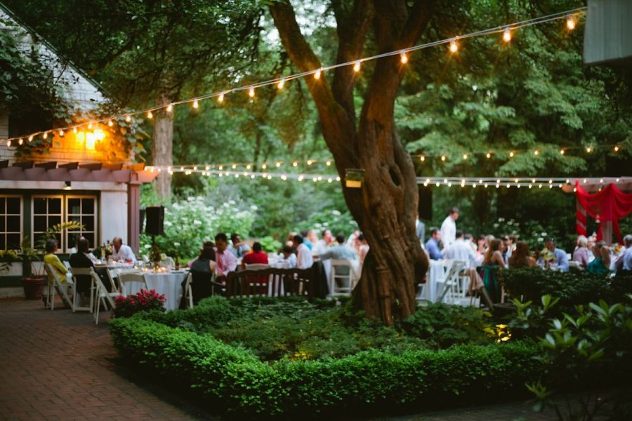 Leach Botanical Garden Reception