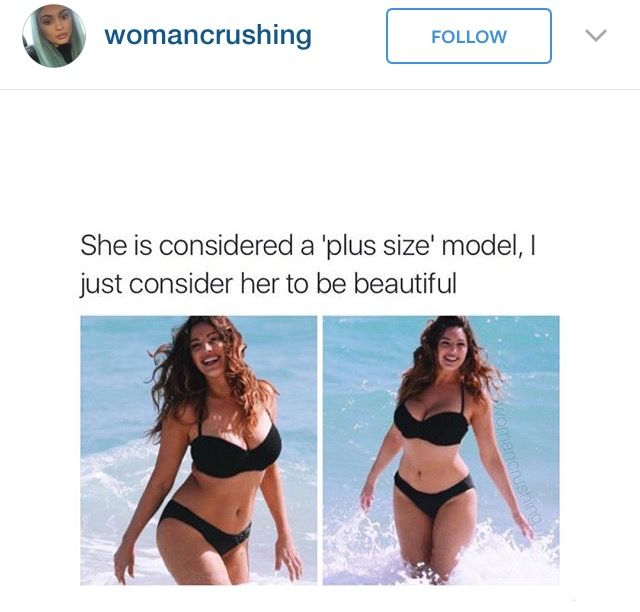 8ca7c6b542dd1 How is this plus size    This is a normal woman!!!