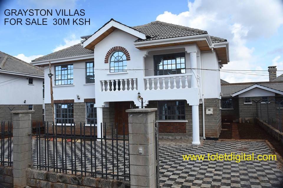 Featured Property For Sale In Kenya Grayston Villas Villa Townhouse Gated Community