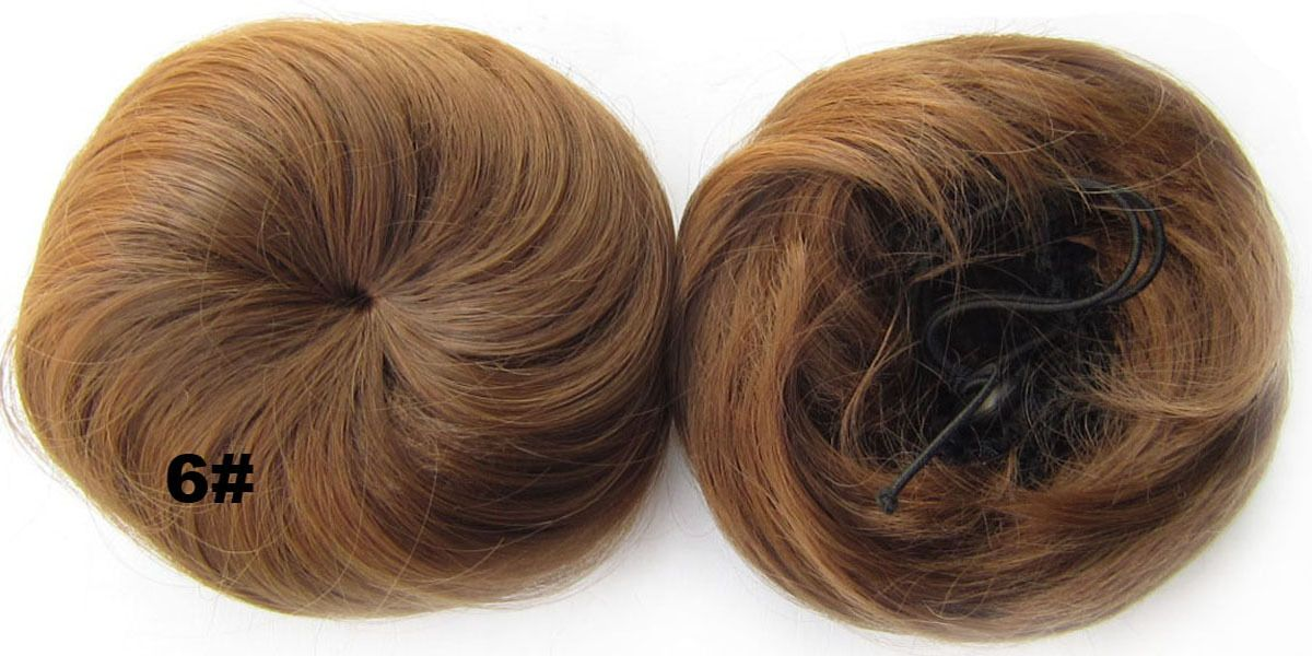 Ladies lustrous straight short hair buns drawstring synthetic hair ladies lustrous straight short hair buns drawstring synthetic hair extension bride scrunchies 6 pmusecretfo Gallery