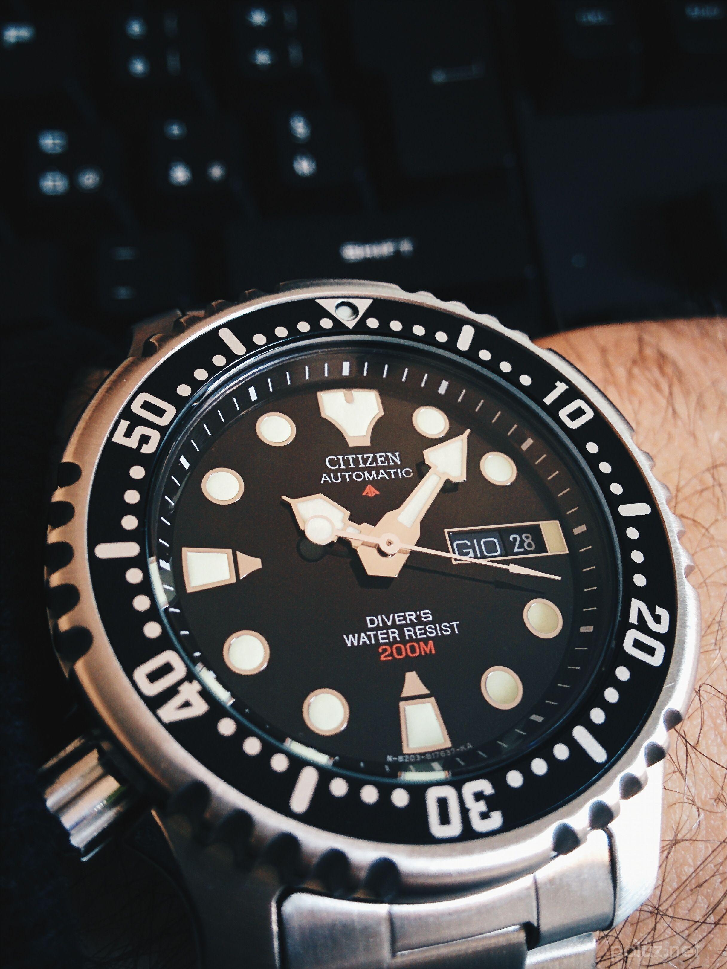 Citizen Promaster Diver NY0040 Luxusní Hodinky dca75f5814a
