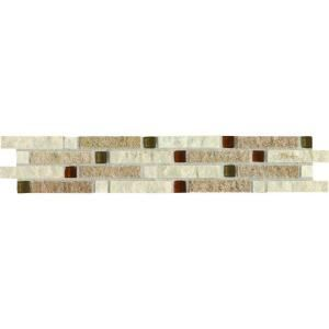 Decorative Accent Ceramic Wall Tile Amazing Daltile Heathland Universal 2 Inx 10 Inceramic Wall Tile Review