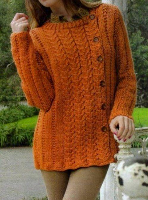 Saco_30 (498x675, 71Kb) | Knitting: Garments for Women | Pinterest ...