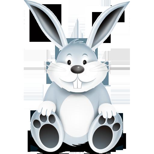 """Bunny Icon"", comes in 32x32, 64x64, 128x128, 256x256"