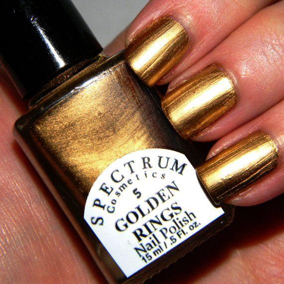 Best 25+ Gold Nail Polish Ideas On Pinterest