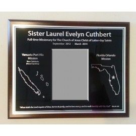 "LDS Missionary Plaques - Use promo code ""PINTEREST"" on www.knittwitt.com for 50% off your order!"